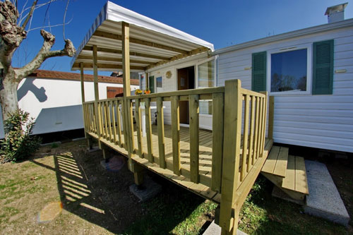 mobile home 27m² au camping Val-Vert - charente-maritime