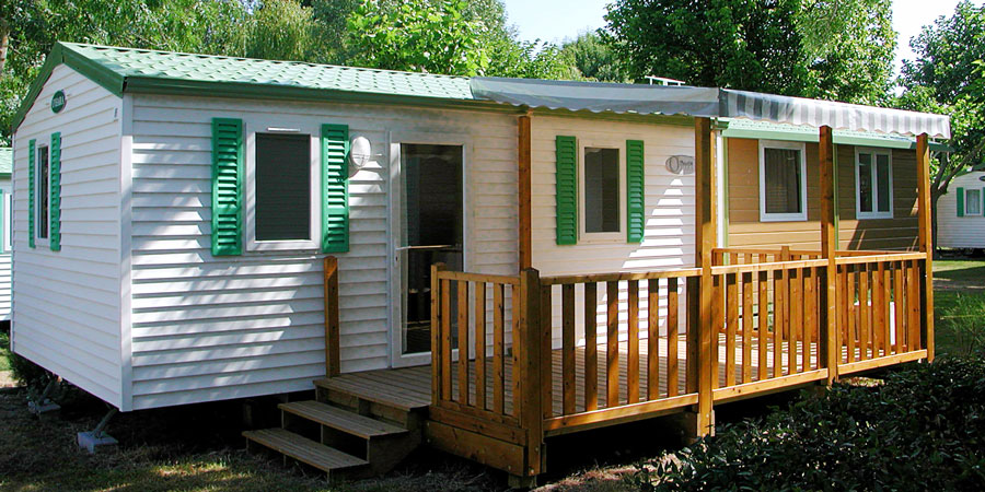 mobiles homes - camping Val-Vert - Royan - charente-maritime